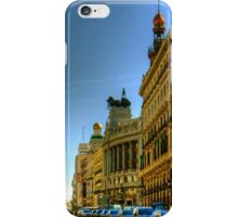 Calle de Alcalá, Madrid iPhone Case/Skin