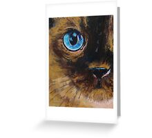 Tonkinese Greeting Card
