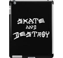 THRASHER MAGAZINE SKATE AND DESTROY 2016 iPad Case/Skin