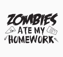 Zombies Ate My Homework Kids Clothes