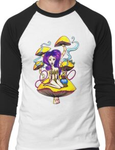 Hookah Girl Men's Baseball ¾ T-Shirt