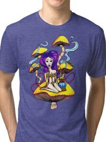 Hookah Girl Tri-blend T-Shirt
