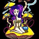 Hookah Girl by Octavio Velazquez