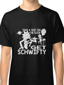 Rick and Morty Inspired Get Schwifty Classic T-Shirt