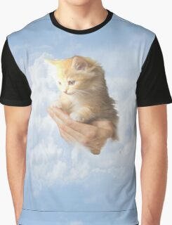 Cat in the Sky  Graphic T-Shirt