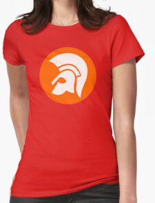 TROJAN RECORDS GIFT LOGO Womens Fitted T-Shirt