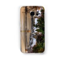 Queensferry Harbour and Road Bridge Samsung Galaxy Case/Skin