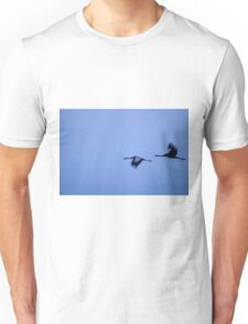 Common crane (Grus grus). Unisex T-Shirt