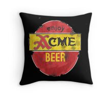 ACME Worn Out Throw Pillow