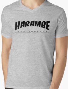 HARAMBE VINTAGE COLLECTION Mens V-Neck T-Shirt