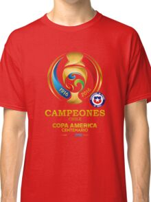 Chile Football Team - campeones chile Classic T-Shirt