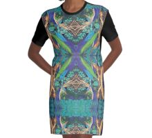 Tree Mother Graphic T-Shirt Dress