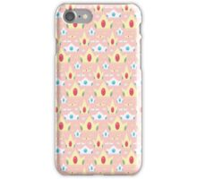 Cute Crown Pastel Pattern iPhone Case/Skin