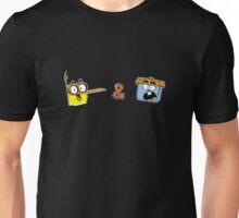 Bird and Squirrel Unisex T-Shirt