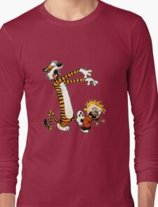 zombie calvin hobbes Long Sleeve T-Shirt