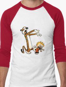 zombie calvin hobbes Men's Baseball ¾ T-Shirt