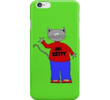 big kitty iPhone Case/Skin