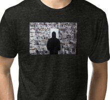 The BLACKOUT Photo Wall Tri-blend T-Shirt