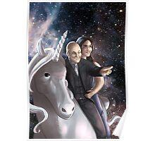 Kay Ram unicorn Poster