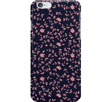 Pink Flower Floral Seamless Pattern iPhone Case/Skin