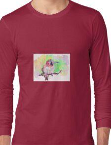Colourful Bird Long Sleeve T-Shirt