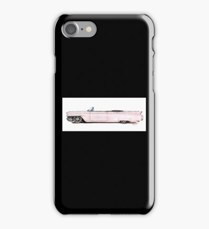 1964 Custom Pink Cadillac iPhone Case/Skin