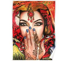 Arabic Beauty Poster