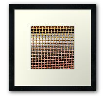 'Grate' The Accidental Pilgrim Framed Print