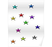 Pixel stars  Poster
