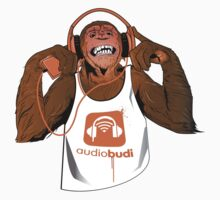 Orange Monkey  by audiobudi