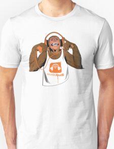 Orange Monkey  T-Shirt