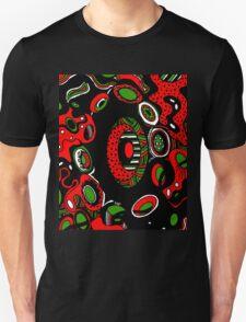 Miniature Aussie Tangle 13 Xmas Colours  1 Unisex T-Shirt