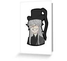 Undertaker (Black Butler) Greeting Card