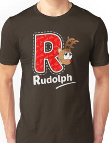 'R' is for Rudolph! Unisex T-Shirt
