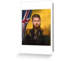 Aron Gunnarsson lord of Ice Greeting Card