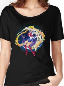 Sailor Moon and Luna Women's Relaxed Fit T-Shirt