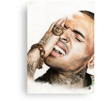 Chris Brown Canvas Print