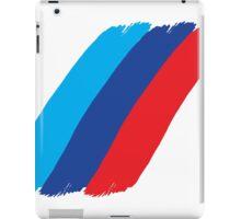 BMW M series stripes iPad Case/Skin