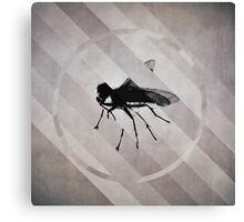 Fly Fracture Canvas Print