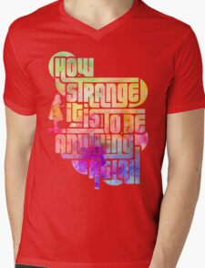 How Strange :: Alice II Mens V-Neck T-Shirt
