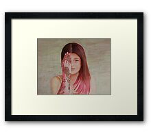 Now you see me Framed Print