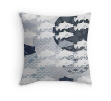 Decorative Barramundi Throw Pillow - Dark 2 Throw Pillow