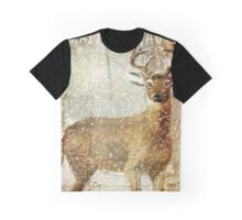 Winter Game Deer Graphic T-Shirt