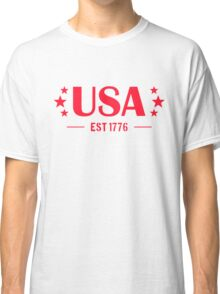 USA Patriotic Classic T-Shirt