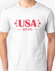 USA Patriotic Unisex T-Shirt