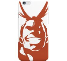 Minimalist All Might  iPhone Case/Skin