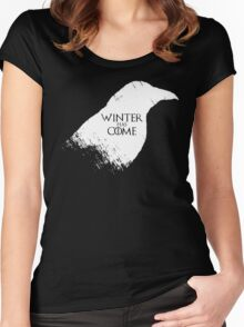 Winter Has Come Tee Women's Fitted Scoop T-Shirt