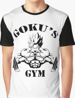 Goku's Gym Graphic T-Shirt