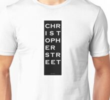 Christopher Street - NYC - Black Unisex T-Shirt