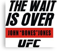 john bones jones ufc Canvas Print